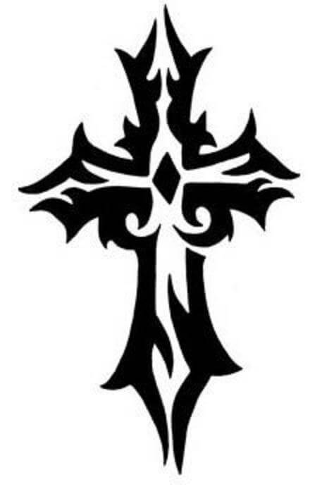 Cross tattoo designs the body is a canvas for Cool tattoo stencils