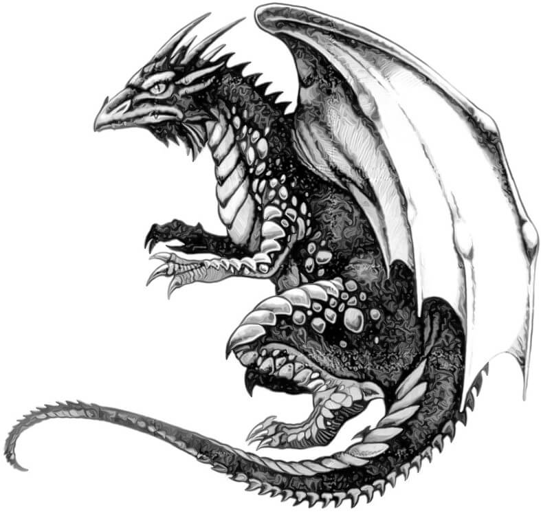 Dragon Tattoo Design - see more designs on ...