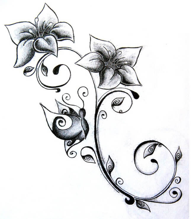 Flower Tattoos Designs Ideas And Meaning: Flower Tattoo Designs