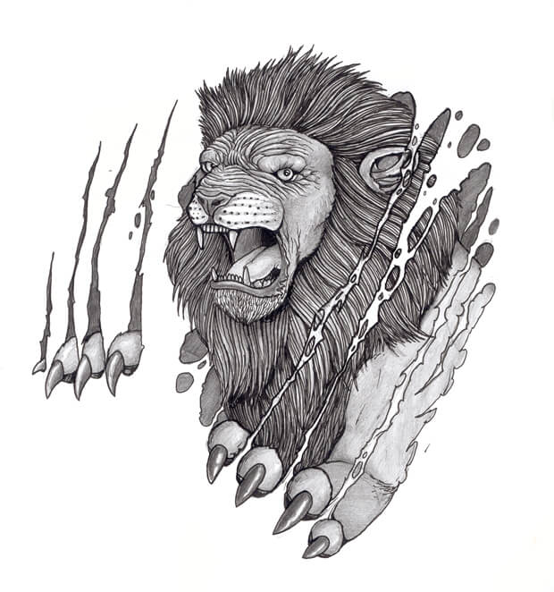 Lion Tattoo Designs The Body Is A Canvas