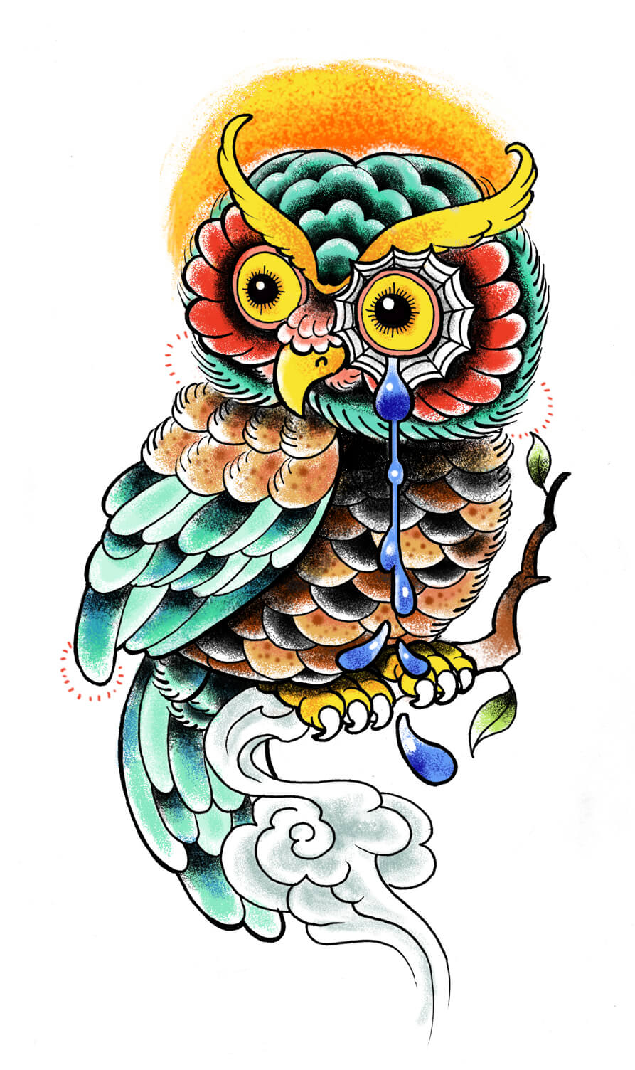 Owl tattoo designs the body is a canvas for Owl tattoo designs