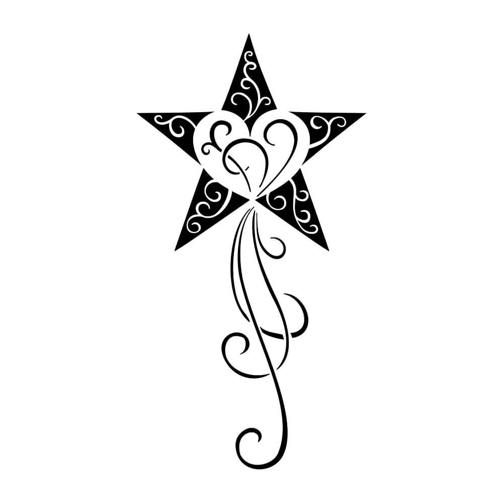 Star Tattoos Designs: The Body Is A Canvas