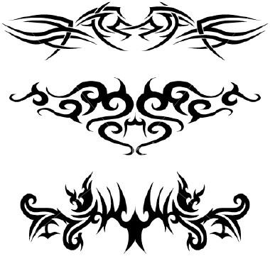 tribal tattoo designs the body is a canvas. Black Bedroom Furniture Sets. Home Design Ideas