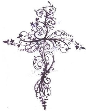 Cross Tattoo Design - see more designs on https://thebodyisacanvas.com