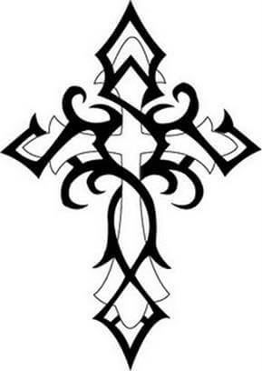 Cross Tattoo Design - see more designs on http://thebodyisacanvas.com