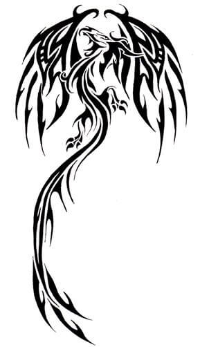 Dragon Tattoo Design - see more designs on http://thebodyisacanvas.com