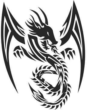 Dragon Tattoo Design - see more designs on https://thebodyisacanvas.com