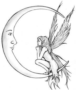 Fairy Tattoo Design - see more designs on https://thebodyisacanvas.com