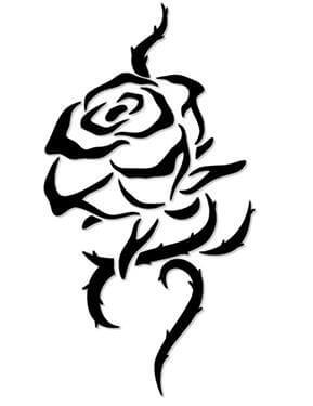 Flower Tattoo Design - see more designs on http://thebodyisacanvas.com