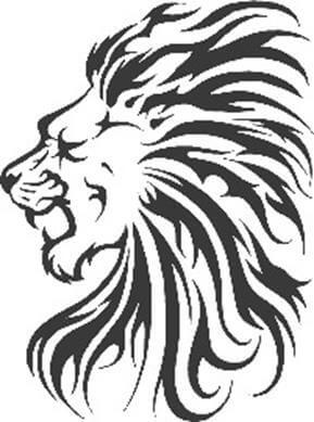 Lion Tattoo Design - see more designs on https://thebodyisacanvas.com