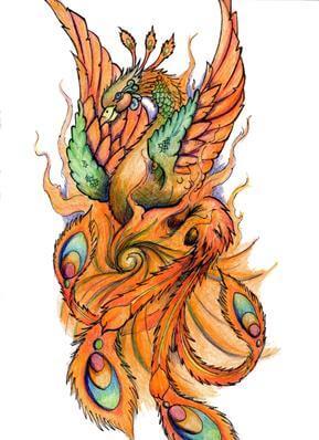 Phoenix Tattoo Design - see more designs on http://thebodyisacanvas.com