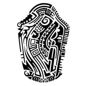 Aztec Tattoo Design - see more designs on https://thebodyisacanvas.com