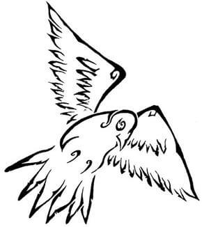 Dove Tattoo Design - see more designs on https://thebodyisacanvas.com