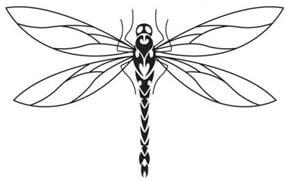 Dragonfly Tattoo Design - see more designs on http://thebodyisacanvas.com