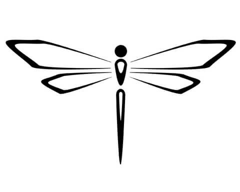 dragonfly tattoo designs the body is a canvas. Black Bedroom Furniture Sets. Home Design Ideas