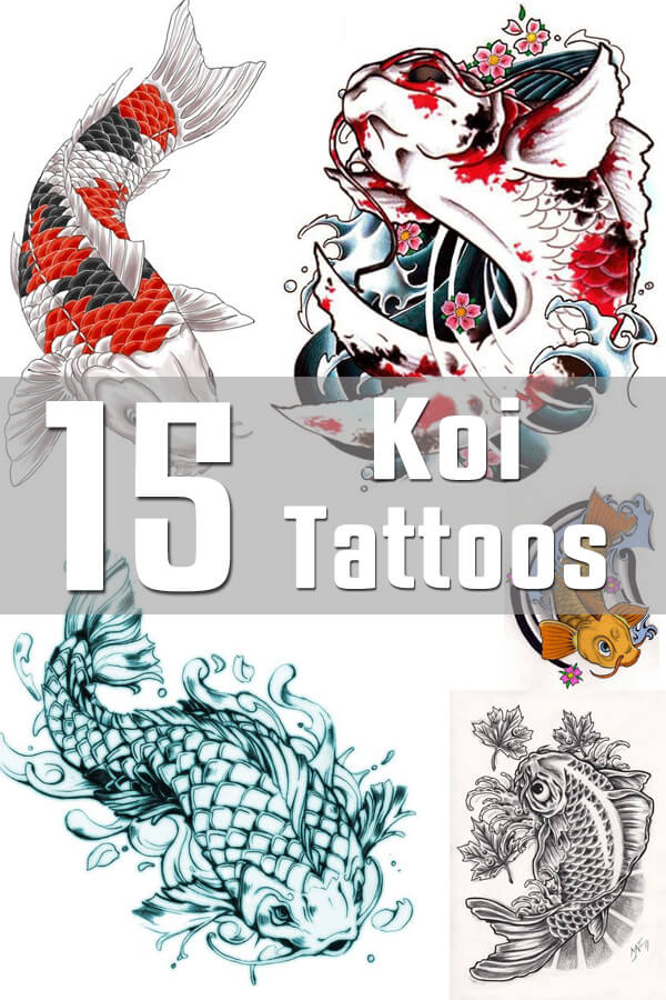 Koi Tattoo Designs
