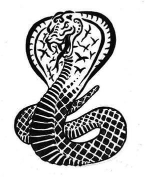 Snake Tattoo Design - see more designs on https://thebodyisacanvas.com