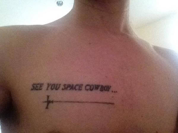 16 Stellar Cowboy Bebop Tattoos - The Body is a Canvas #Cowboy-Bebop-tattoo- #tattoos