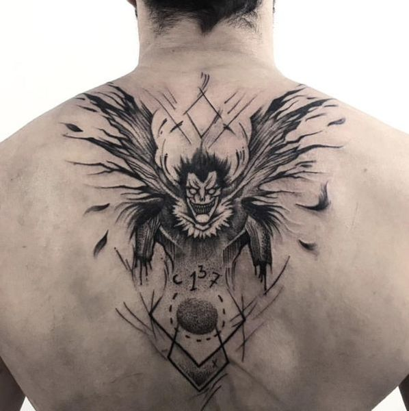 19 Death Note Tattoos The Body Is A Canvas