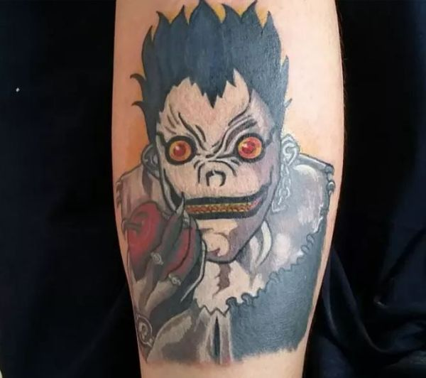 19 Death Note Tattoos - The Body is a Canvas #DeathNote #tattoos #tattooideas