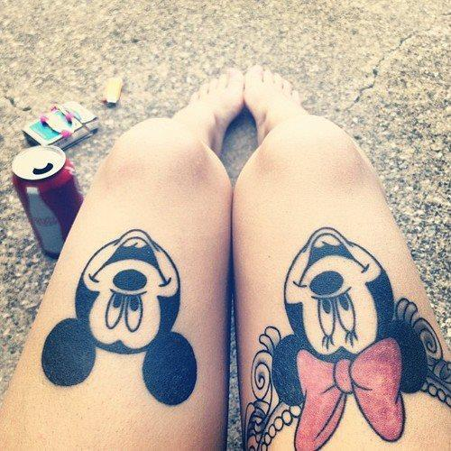 17 Magical Disney Tattoos - The Body is a Canvas #Disney #tattoos #tattooideas