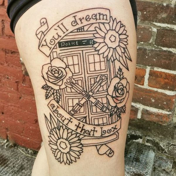 17 Doctor Who Tattoos - The Body is a Canvas #DoctorWho #tattoos #tattooideas