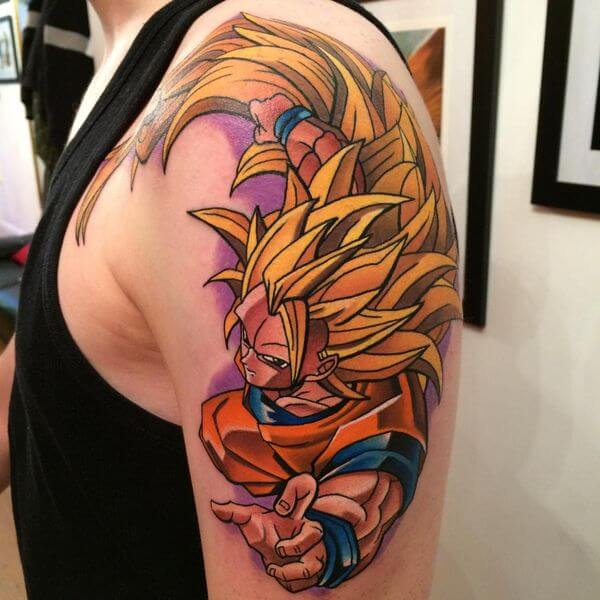 30 Dragon Ball Z Tattoos Even Frieza Would Admire - The Body is a Canvas #DragonBallZ #tattoos #tattooideas