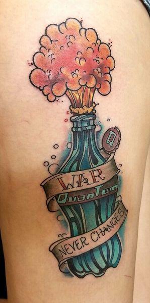 25 Fallout Tattoos - The Body is a Canvas #Fallout #tattoos #tattooideas