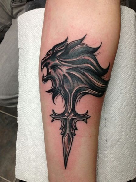 25 Final Fantasy Tattoos - The Body is a Canvas #FinalFantasy #tattoos #tattooideas