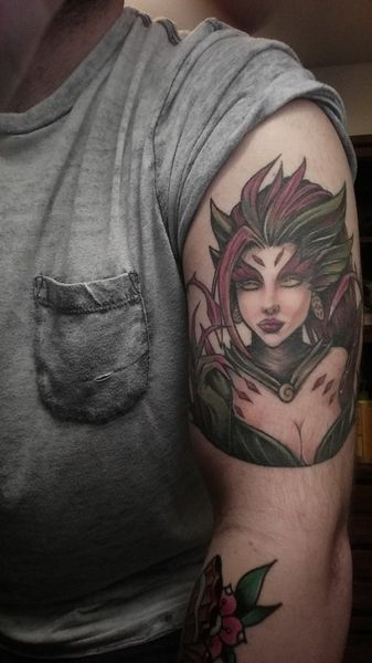 24 League of Legends Tattoos - The Body is a Canvas #LeagueofLegends #tattoos #tattooideas