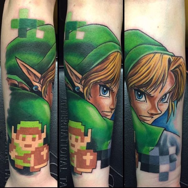 30 Legend of Zelda Tattoos - The Body is a Canvas #LegendOfZelda #tattoos #tattooideas