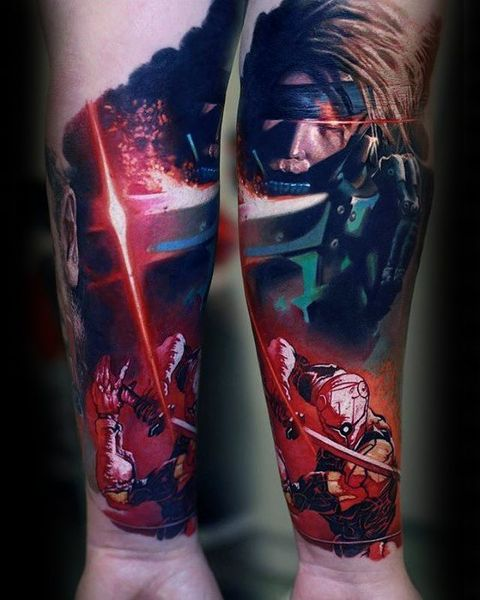 30 Metal Gear Tattoos The Body Is A Canvas