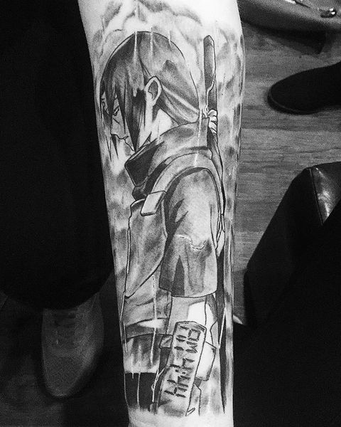 30 Naruto Tattoos - The Body is a Canvas #Naruto #tattoos #tattooideas