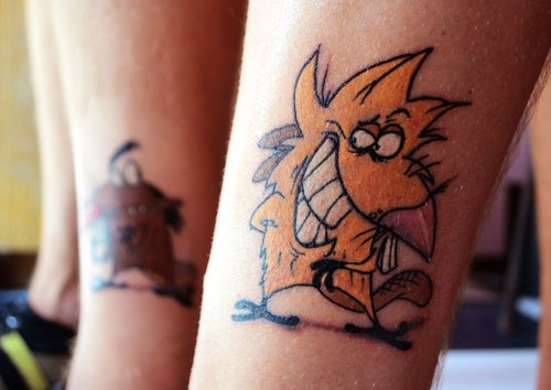 16 Old School Nickelodeon Tattoos - The Body is a Canvas #nickelodeon #tattoos #tattooideas