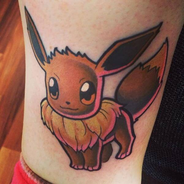 41 Pokémon Tattoos That Any Aspiring Pokémon Master Will Love - The Body is a Canvas #pokemon #tattoos #tattooideas