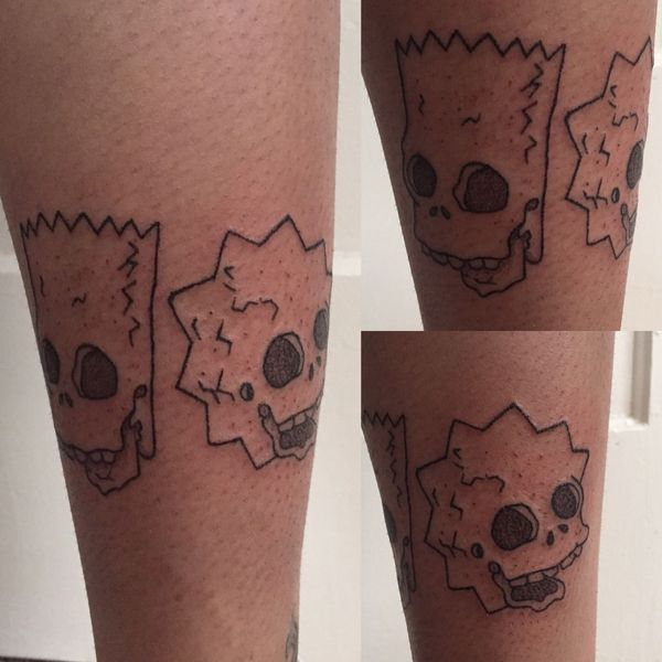 25 Simpsons Tattoos - The Body is a Canvas #Simpsons #tattoos #tattooideas