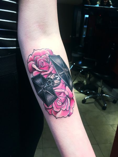 23 Star Wars Tattoos - The Body is a Canvas #StarWars #tattoos #tattooideas
