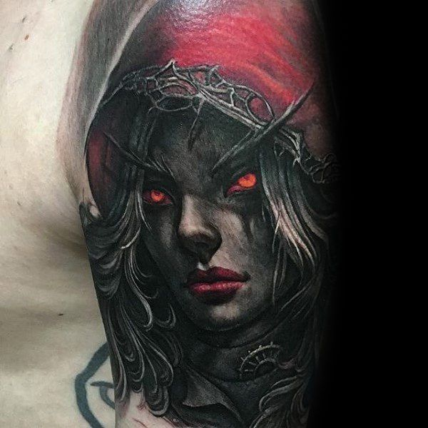 30 World of Warcraft Tattoos - The Body is a Canvas #WorldOfWarcraft #WoW #tattoos #tattooideas